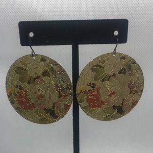 4 for $12: Floral Dangle Earrings